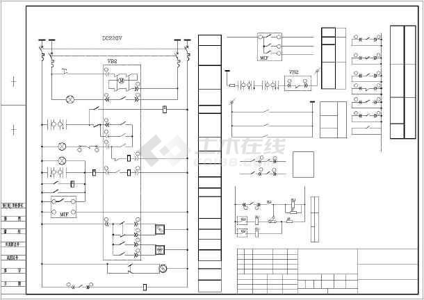 某公司10kv高压配电柜电气原理图