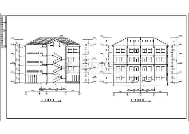 某全套教学楼错误v全套详图CAD中学cad.lmuexe平面图片