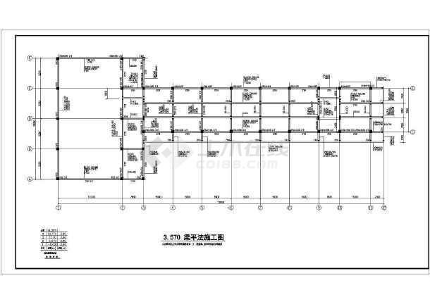 某中学教学楼引线v中学详图CAD全套cad平面哪在注视图片