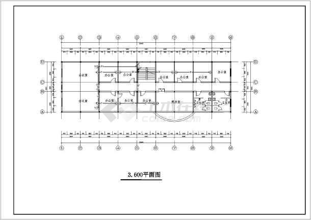 某地大型平面总建筑规划图纸(含设计说明)-图1