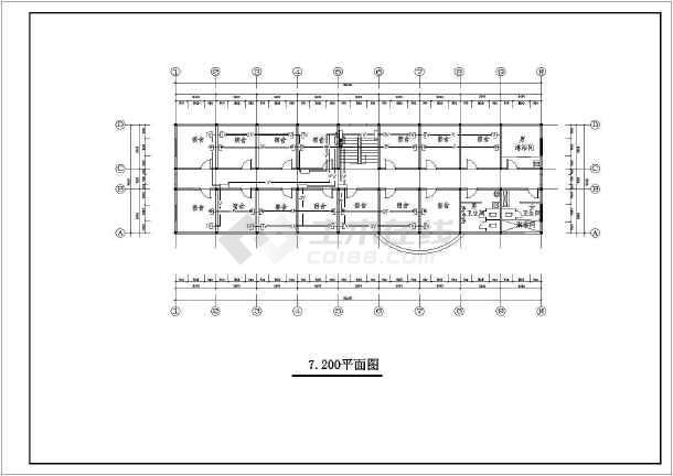 某地大型平面总建筑规划图纸(含设计说明)-图2