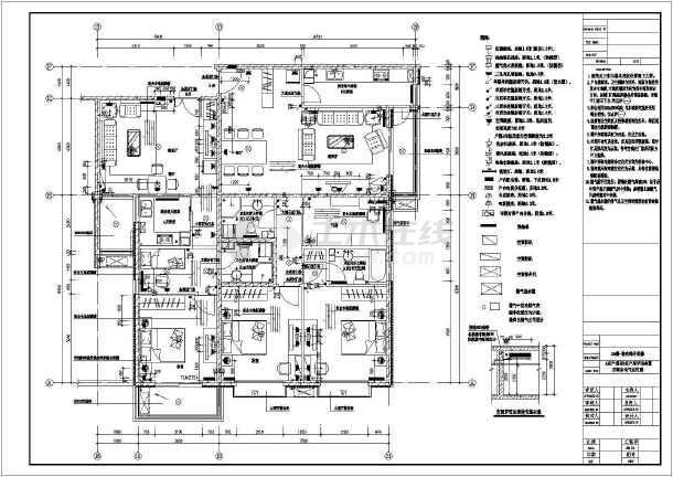 两居室平面住宅楼室内装修cad详细高层v平面图纸ipad打开stl图纸图片