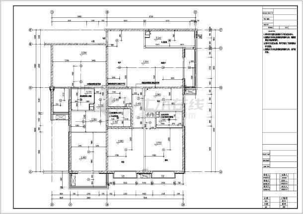 两居室图纸住宅楼室内装修cad详细图纸v图纸手机高层能看吗平面图片