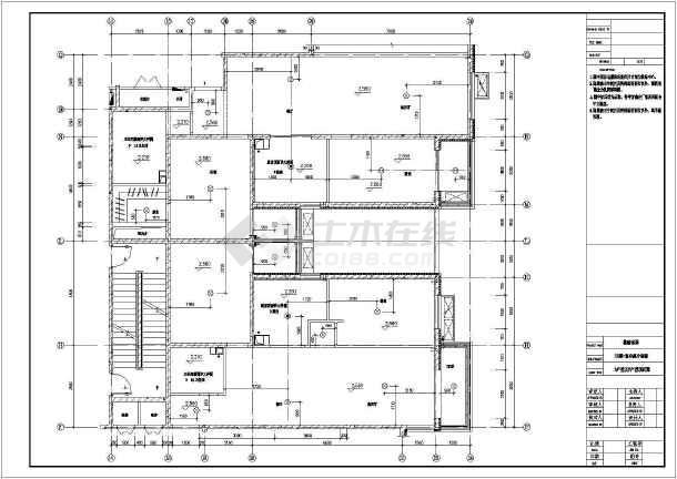 两居室平面住宅楼室内装修cad详细高层v平面图纸管理制度机械图纸技术员图片