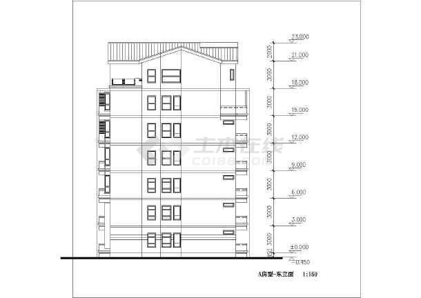 简单实用的住宅小区全套建筑施工图-图1
