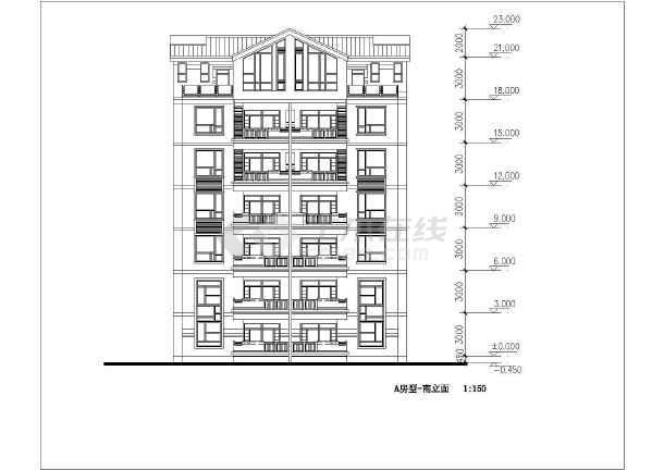 简单实用的住宅小区全套建筑施工图-图2
