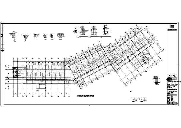 框剪结构酒店全套结构施工图纸(全套)-图2