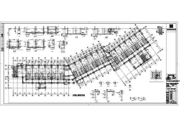 框剪结构酒店全套结构施工图纸(全套)-图3
