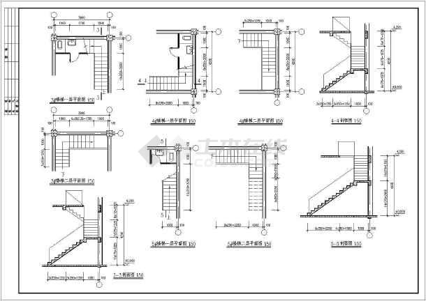 某地区仿古清式公建建筑设计方案图-图1