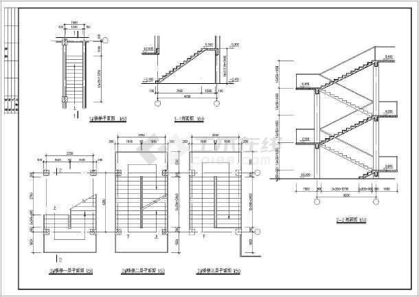某地区仿古清式公建建筑设计方案图-图2