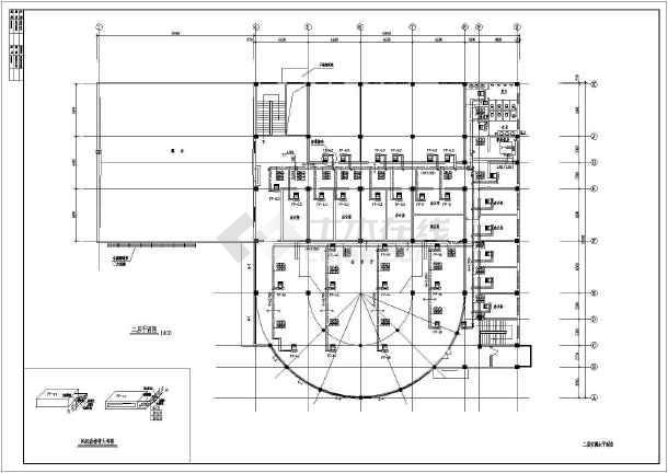 某地区大型活动中心中央空调电气设计施工图-图1