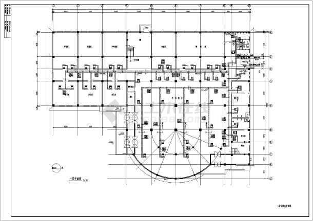 某地区大型活动中心中央空调电气设计施工图-图3