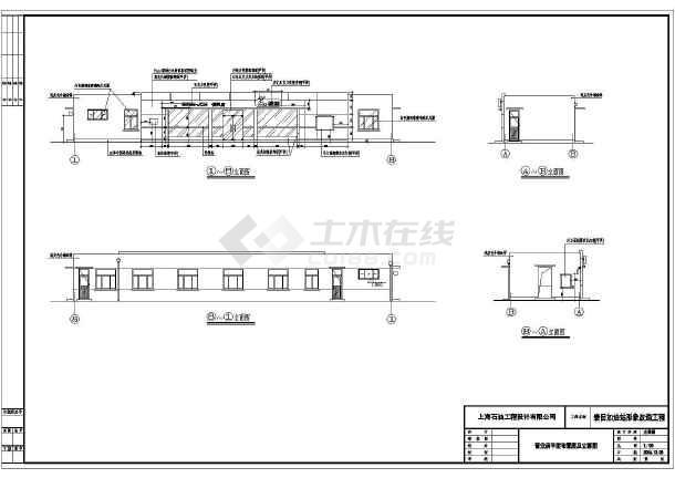 某地区大型加油站电气设计施工图(全套)-图2
