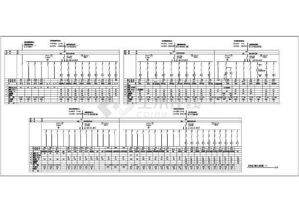某地区大型制药厂车间电气全套施工图-图1