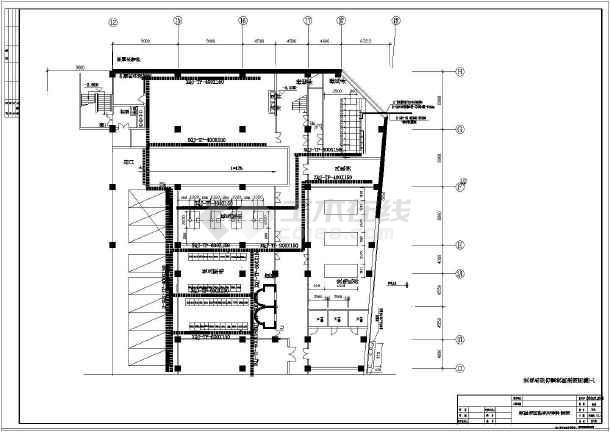某电气大型大厦全套电气系统施工设计图纸-图1