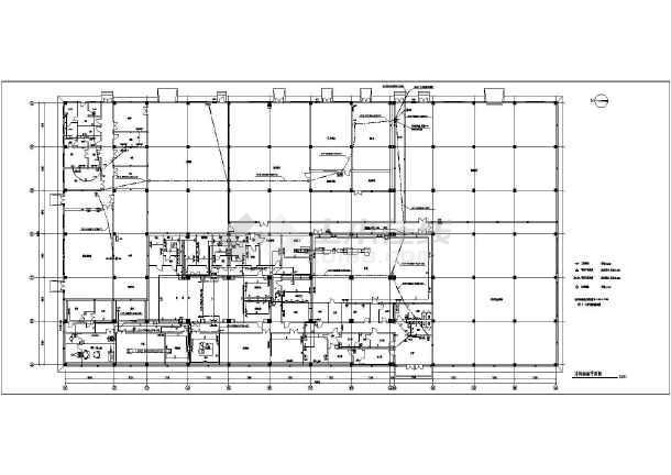 某地区大型制药厂车间电气全套施工图(共16张)-图2