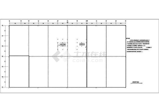 某地区大型制药厂车间电气全套施工图(共16张)-图3