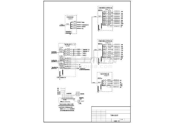某沿海地区大型船闸工程电气施工图纸-图2
