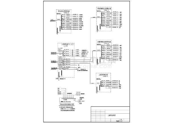 某沿海地区大型船闸工程电气施工图纸-图3