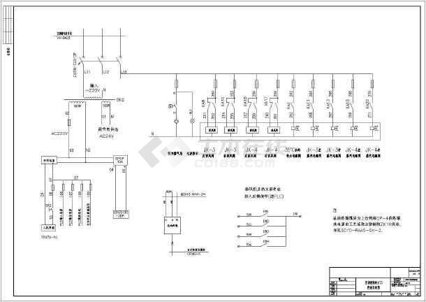 一套大型详细的空调PLC控制系统全图-图1