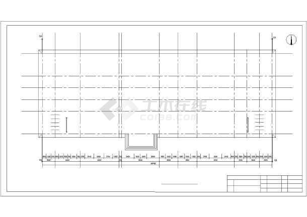 中国银行郑州市分行综合办公楼设计cad详细图-图1