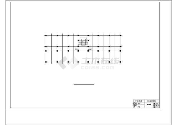 洛阳市西城区办公楼建筑结构设计cad详图及计算书-图2