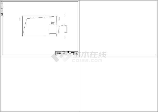 天元区商业办公楼设计cad详图及文字说明-图1