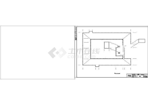 天元区商业办公楼设计cad详图及文字说明-图2