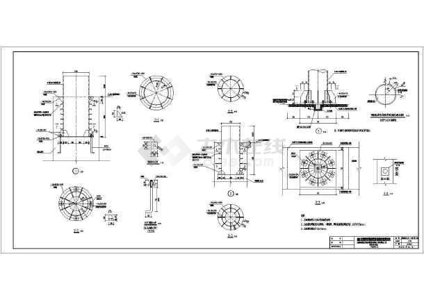 图中有整体结构布置,分析及构件计算,绘制结构布置图及平,立,剖面