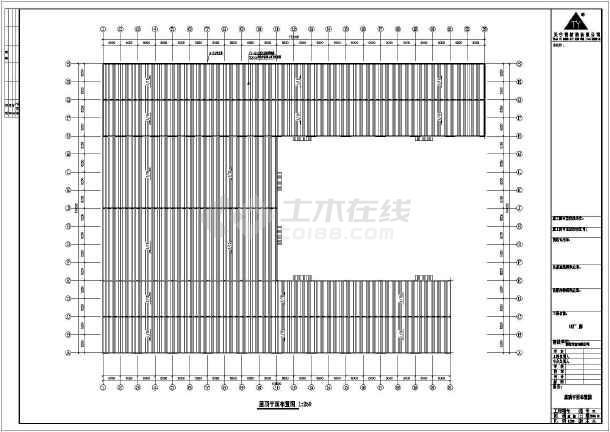 安微晨旺门式钢结构特性cad设计图cad中工程如何添加图片
