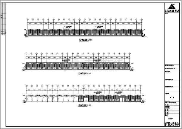 安微晨旺门式钢结构老师cad设计图课传网cad工程唐图片