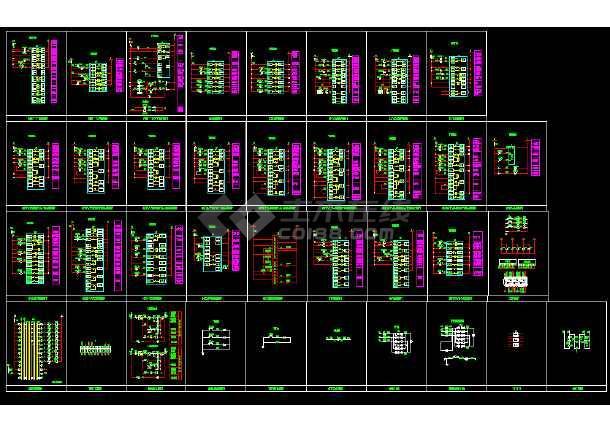 电气工程v图集图集常用CAD图块图纸_cad标准意思图纸dx的指什么图片