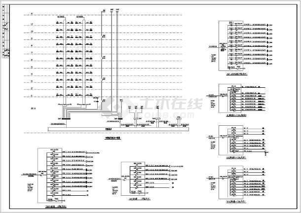 十一层住宅楼电气火灾v电气CAD施工图湖北襄阳cad好的哪里教图片