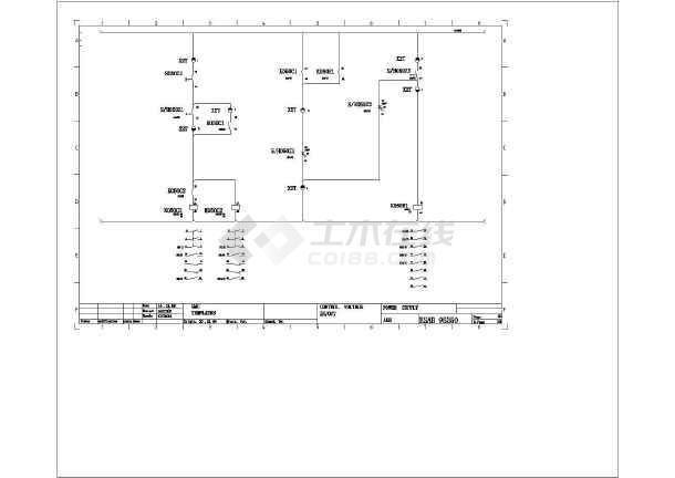 欧标设备遥控控制图纸CAD施工图42069方案设计全图片