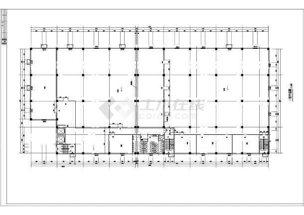 某地工厂建筑cad平面图(共5张)
