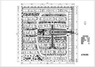 [大连]某住宅小区规划及设计绿化方案设计图纸意思d的图纸的里图片