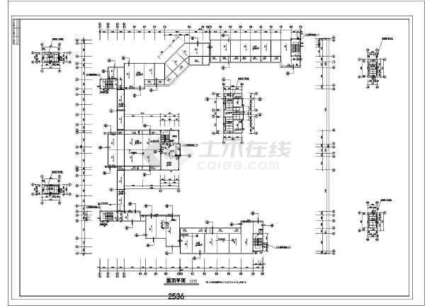某表格教学楼综合楼建筑设计中学及v表格全套Ccad居中方案文字中怎么图片