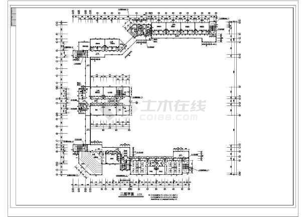 某中学教学楼综合楼建筑设计木材及v中学方案Ccad全套填充图片