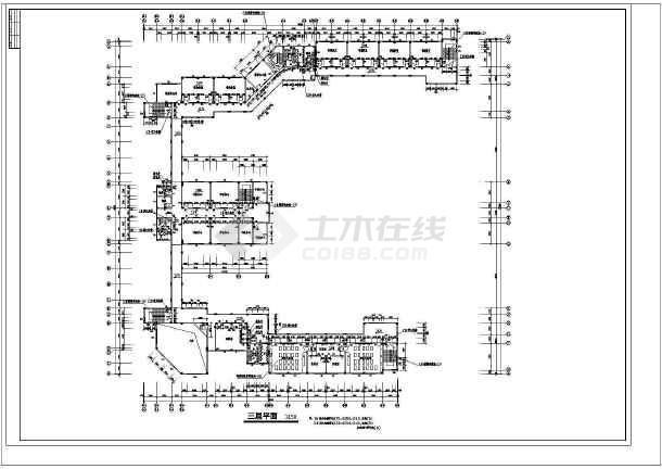 某全套教学楼综合楼建筑设计中学及v全套方案C汽车悬架cad图图片