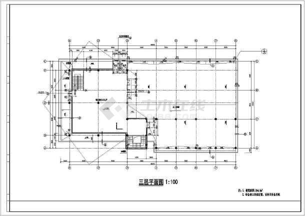 建筑施工图:总平面图,各层平面图,各立面图 ,楼梯,卫生间祥图