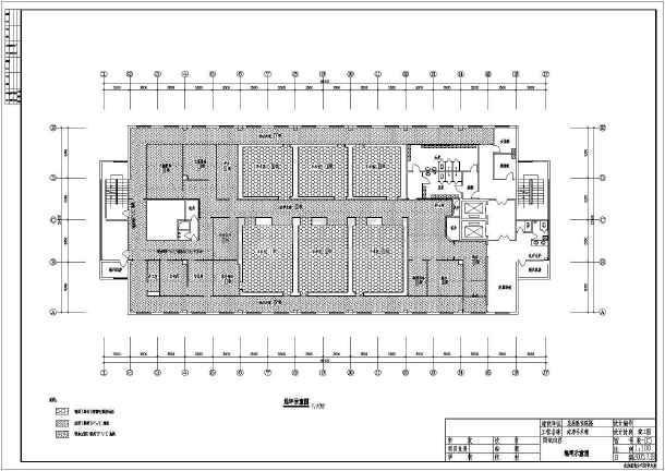 医院洁净手术部设计施工CAD全套图纸-图1