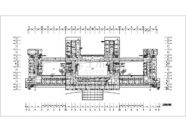 医院门诊楼强弱电设计CAD施工图-图1