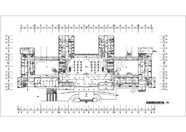 医院门诊楼强弱电设计CAD施工图-图3