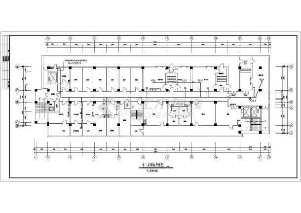 医院住院部弱电设计施工CAD方案图-图3