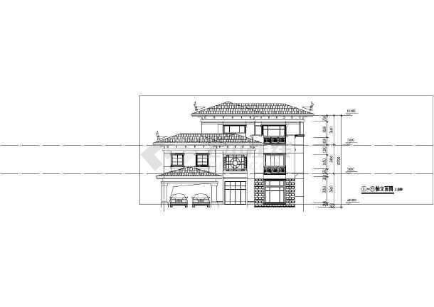 某地大型别墅平立剖面图(共10张)沈阳别墅好哪家装修公司图片