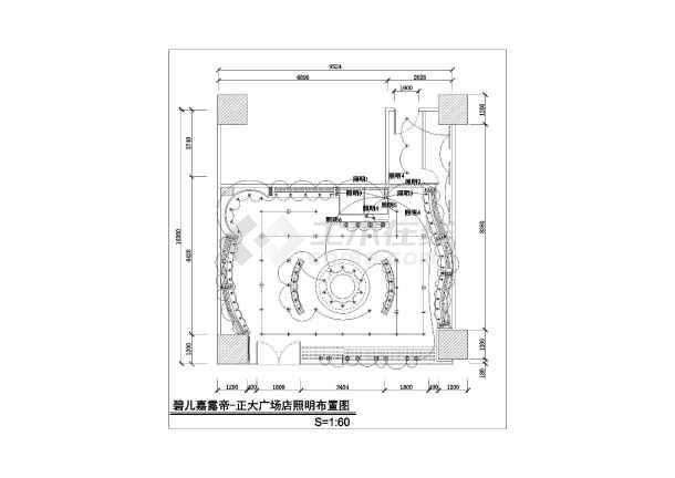 某地区品牌服装店建筑cad设计图纸ic反应器设计图纸图片