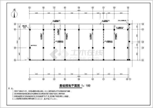 底商电气住宅楼全套设计大小cad施工图cad文字调整没用多层图片