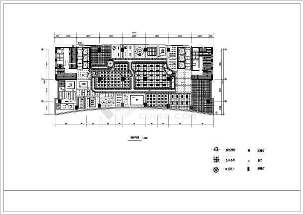 办公空间装修设计方案全套CAD图纸