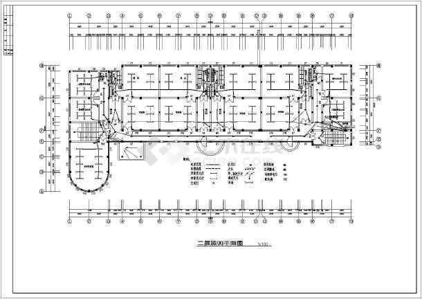 某幼儿园全套电气设计施工CAD图-图1