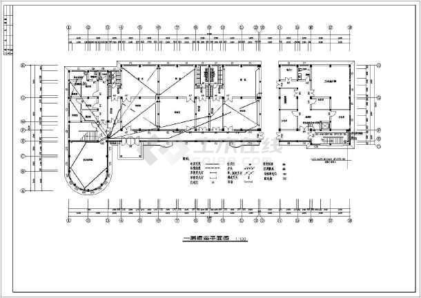 某幼儿园全套电气设计施工CAD图-图3